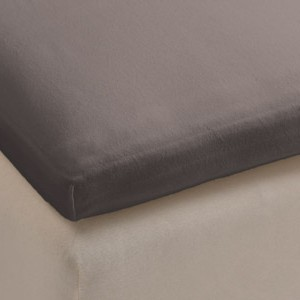 Beddinghouse topper hoeslaken jersey taupe