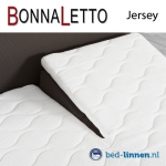 BonnaLetto split topper single jersey
