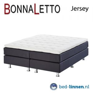 BonnaLetto topper hoeslaken single jersey
