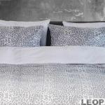 BonnaLetto Leopard Antraciet-Wit
