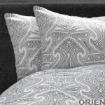 BonnaLetto Oriental Antraciet-Wit
