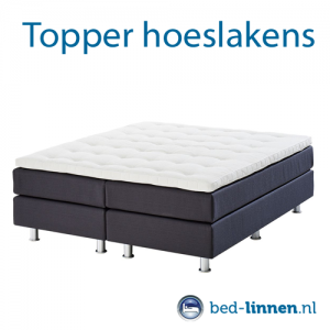 Topper hoeslakens