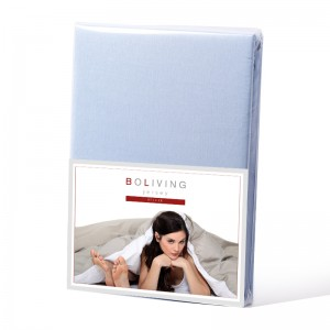 BoLiving Jersey Deluxe Lichtblauw