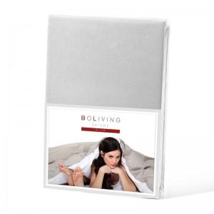 BoLiving Jersey Deluxe Zilver grijs