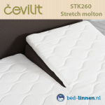 Cevilit molton stretch split topper matrashoes STK260