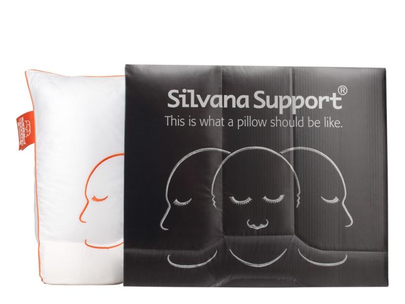 Op zoek naar een silvana support saphir hoofdkussen bed linnen