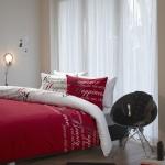 Beddinghouse dekbedovertrek Happiness Light Red